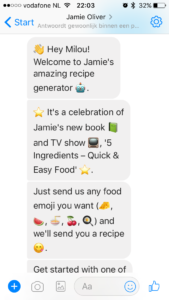 Jamie Oliver's chatbot