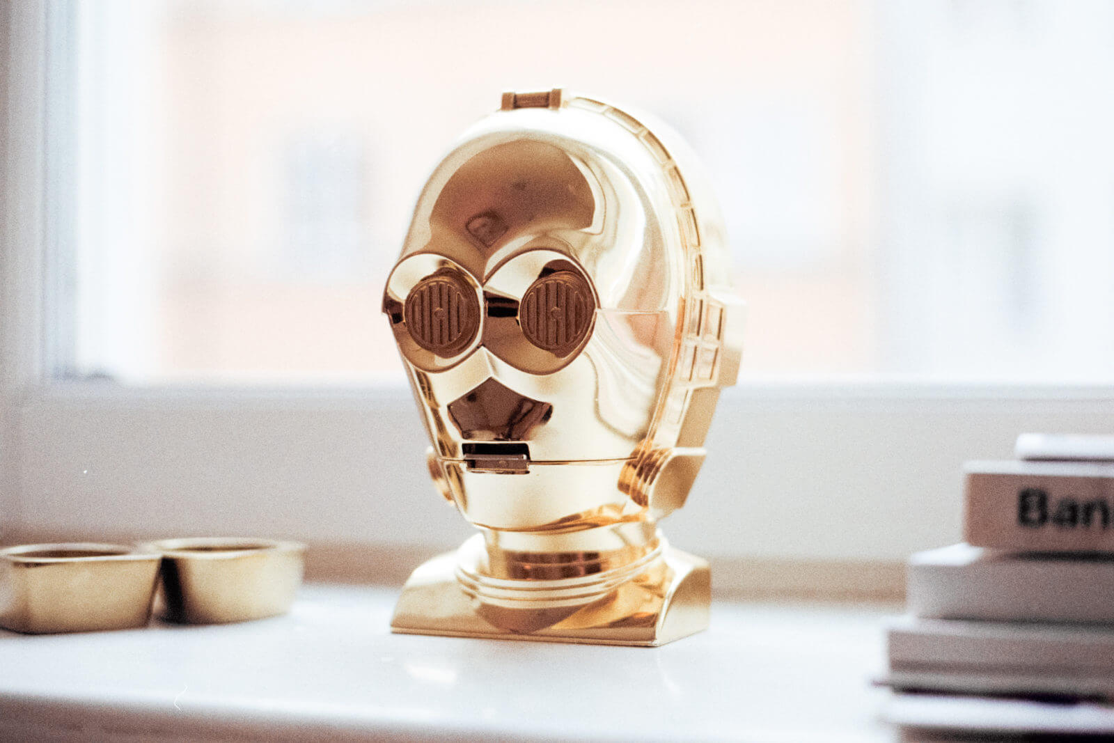 C-3PO or Threepio from Star Wars - Photo by jens johnsson